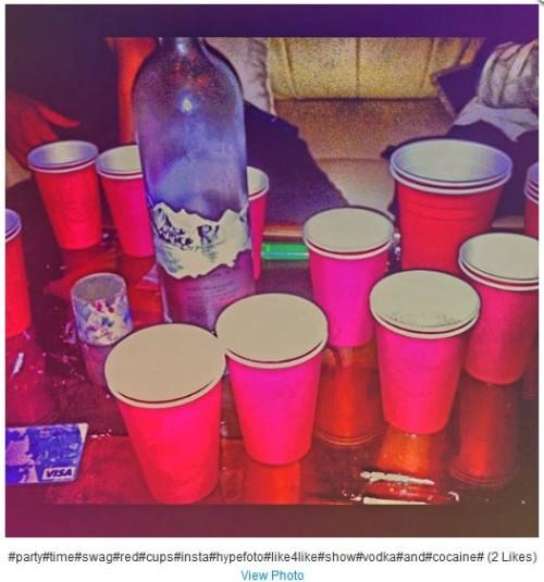 cocaine on instagram