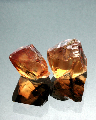 citrine rocks crystals