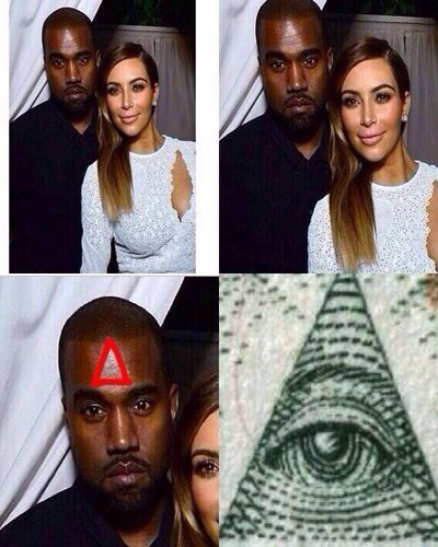 kimye illuminati us military conspiracy theory